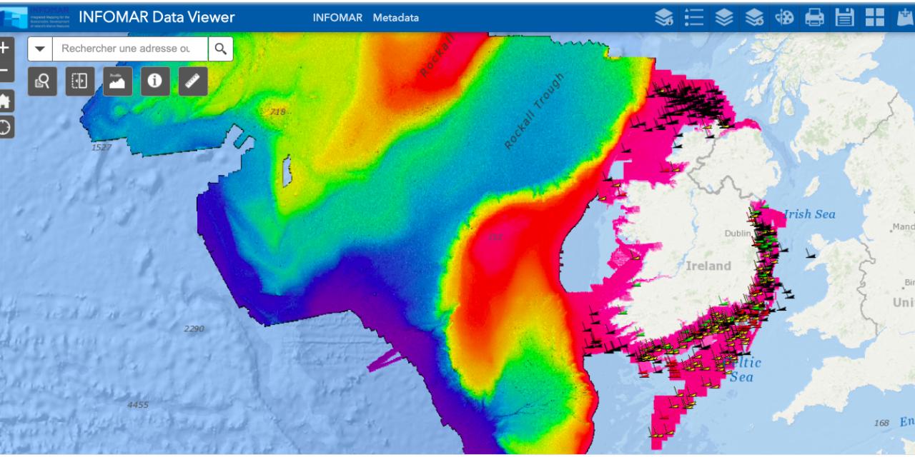 L'Irlande continue à identifier ses fonds pour compléter ses données afin de développer l'éolien en mer