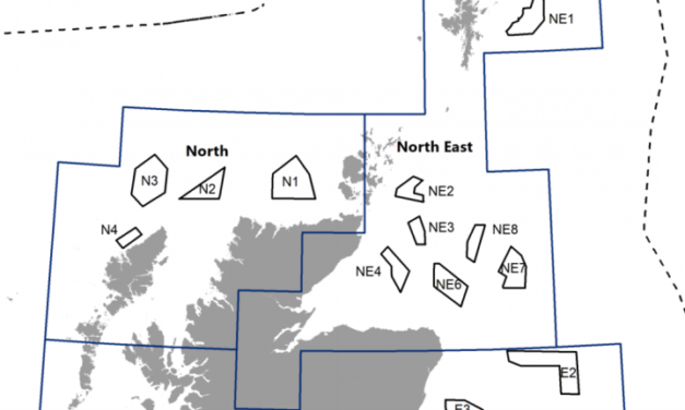 Ecosse : Plan marin sectoriel pour l'énergie éolienne offshore