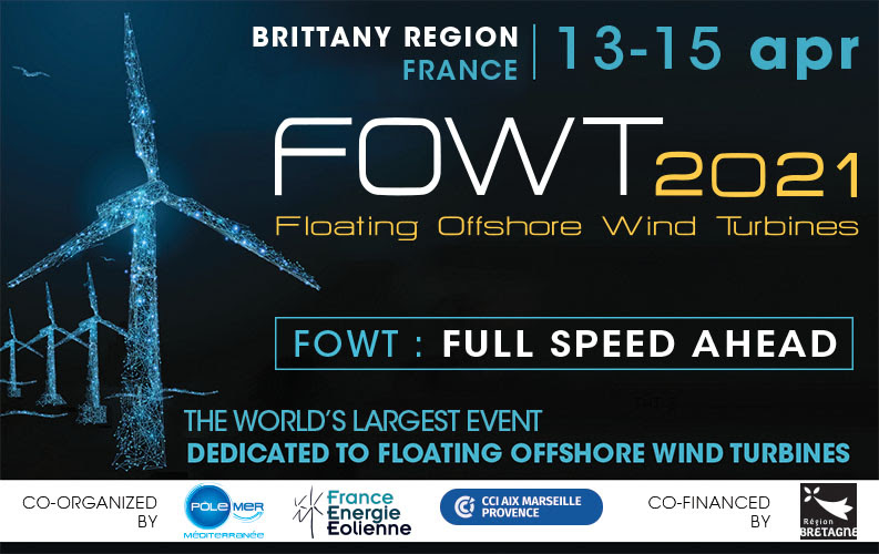 FOWT 2021 : Launch of the Call for Papers