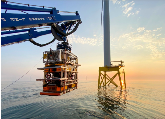 CWind et Rovco ont terminé les inspections d'East Anglia ONE