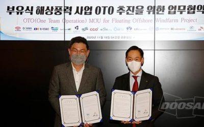 Doosan Heavy Industries et SK Engineering foncent sur le flottant
