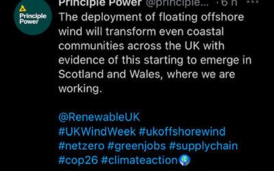 Kincardine : Le Royaume-Uni ouvre la voie aux parcs éoliens flottants avec MHI Vestas et Principle Power