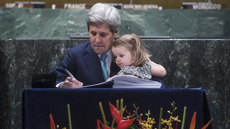 Etats-Unis : Retour en faveur de L'accord de Paris pour le climat avec John Kerry
