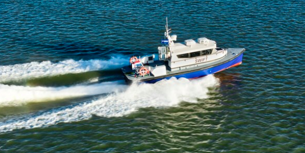 DAMEN DELIVERS FCS 1204 TO TOTAL OFFSHORE