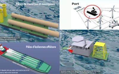 AMI Wpd Offshore France : 1er lauréat, un projet de navire feeder, ITW de Jérémie Rabiller de Génie Wind Marine