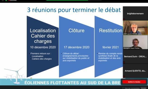 CPDP Bretagne sud: Dernière réunion en ligne le 17 décembre 2020