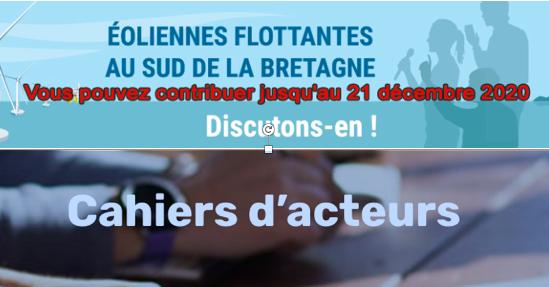 CPDP Bretagne Sud : 37 cahiers d'acteurs en ligne … partie 1