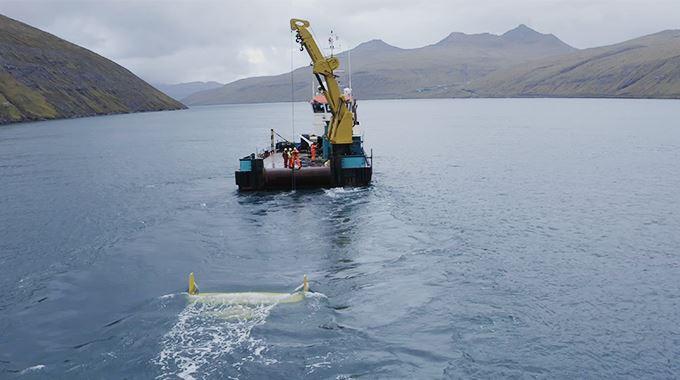 Minesto injecte ses premiers kWh au réseau des îles Féroé