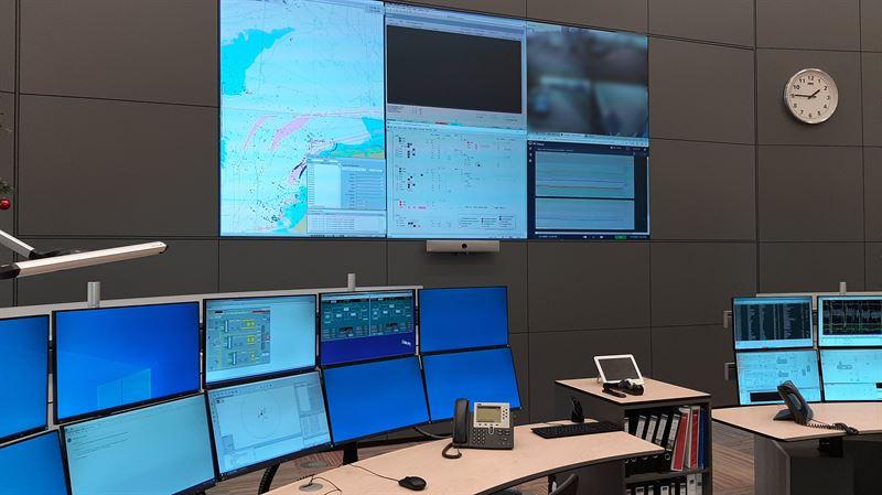 La solution logicielle Navi-Harbor WebVTS 5.0 de Wärtsilä est mise en service