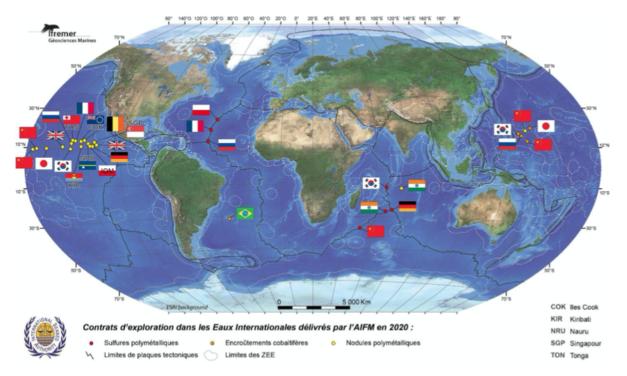L'économie bleue des grands fonds marins : Recherche, connaissance, matières premières, industrie … une nouvelle dynamique ?