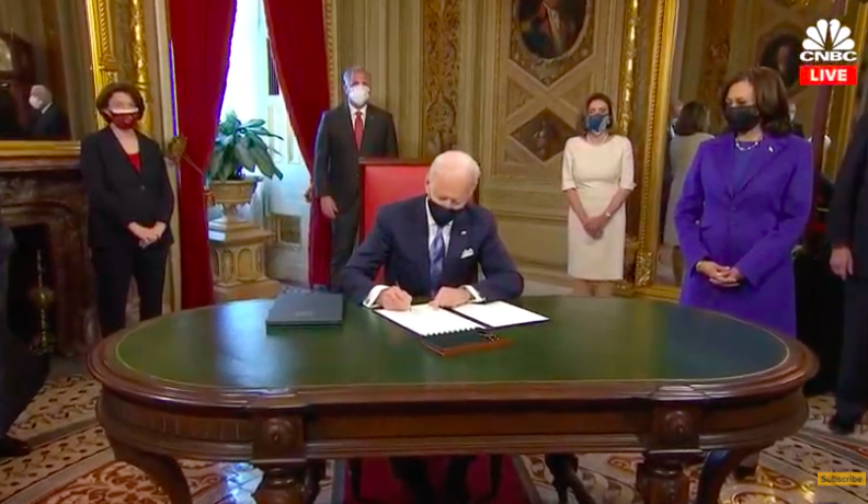 Investiture : Joe Biden, Président des Etats-Unis – Kamala Harris, Vice-Présidente