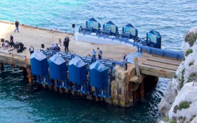 Houlomoteur – Lancement des travaux pour connecter « EWP-EDF One wave energy » au réseau israélien