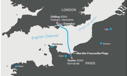 La nouvelle interconnexion électrique France-Angleterre (IFA2) a été mise en service