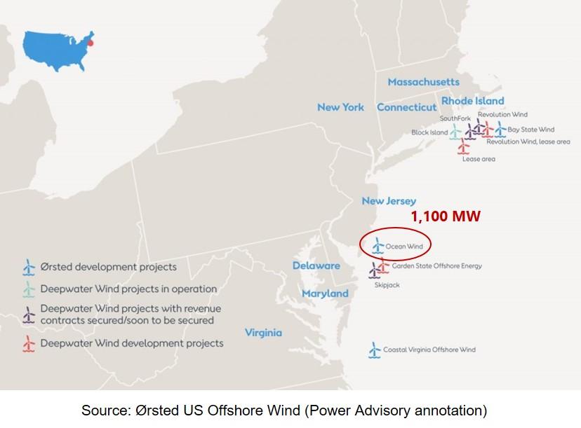 GE finalise son contrat avec Orsted pour Ocean Wind