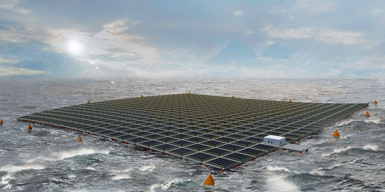 Equinor travaille avec Moss Maritime pour tester du solaire flottant
