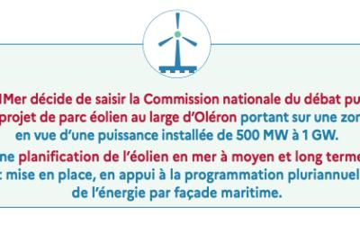 Francis Beaucire est nommé président de la CPDP Oléron Atlantique-Sud