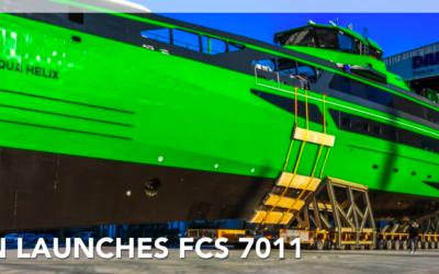 Damen lance un nouveau Crew Boat : le FCS 7011