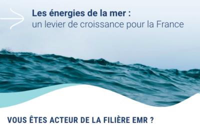 L'Observatoire (de l'emploi) des énergies de la mer : Avez-vous répondu à l'enquête ?