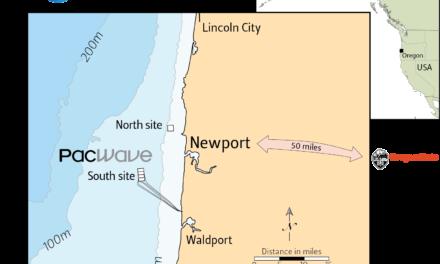 L'Université de l'Oregon reçoit une pré-autorisation pour un site de tests houlomoteurs en mer