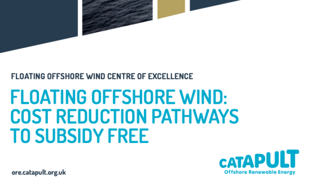 Report – Floating Offshore Wind : Cost Reduction Pathways to Subsidy-Free