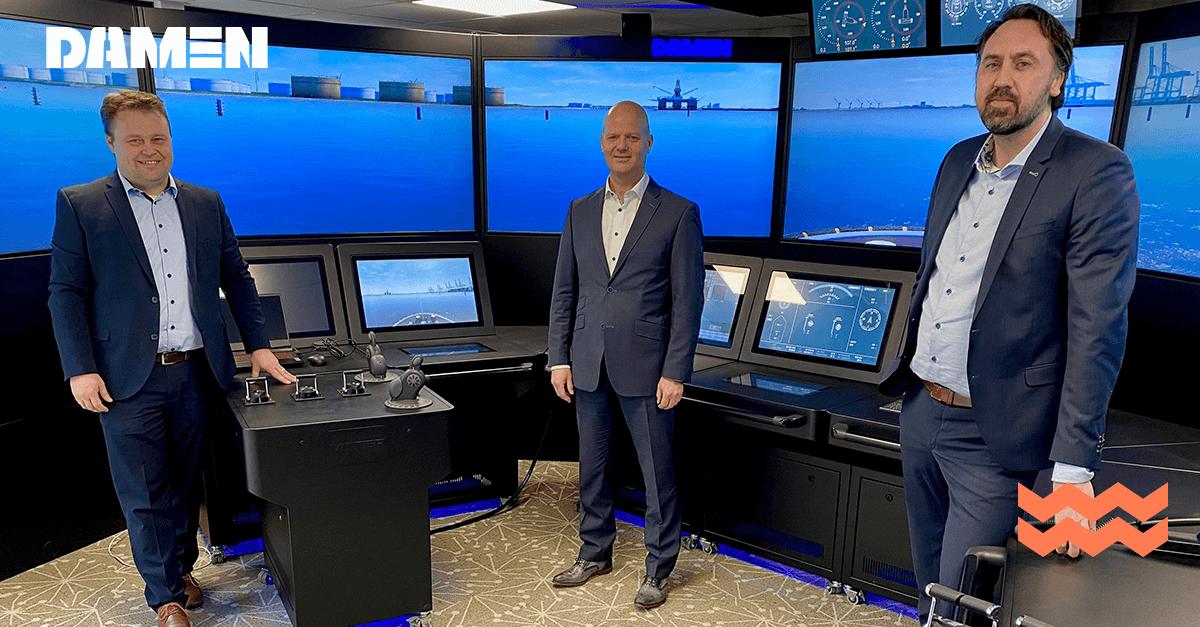 Damen un pas de plus vers la technologie marine autonome