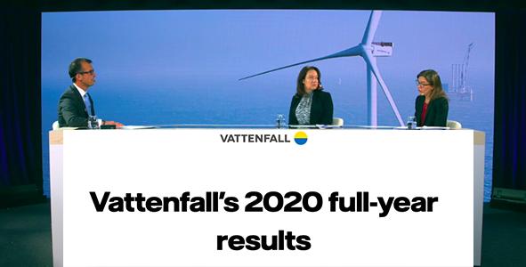 Vattenfall présente ses résultats le 4 février
