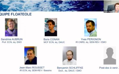 Post-doc : Le LHEEEA de Centrale Nantes complète l'équipe de recherche du Projet FLOATEOLE