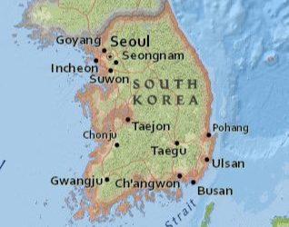 La Corée du Sud souhaite construire le plus grand parc éolien en mer au monde