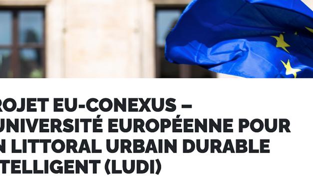 La Rochelle : L'Université européenne LUDI – EU-CoNEXUS s'impose