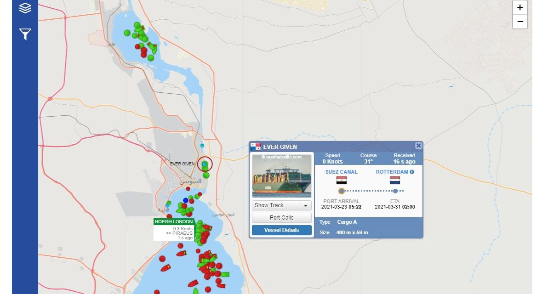 Canal de Suez – Fake posts blame