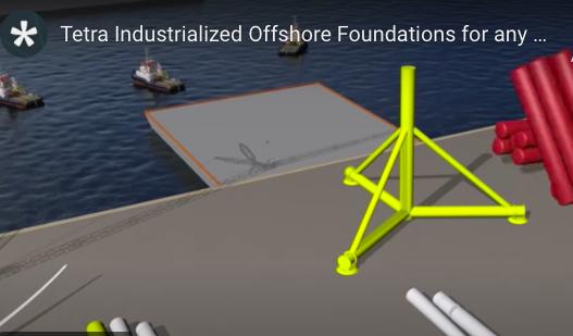 TEPCO a rejoint le projet d'éolienne offshore flottante TetraSpar