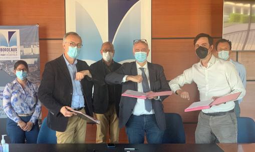 Port de Bordeaux : Accord pour un projet hydrogène renouvelable avec GH2