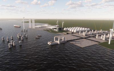 Le projet GREEN ATLANTIC d'ESB : éolien flottant et l'hydrogène, à la place de la centrale au charbon de Moneypoint