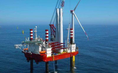 Japon : Début de la pose des fondations d «Akita Noshiro», 1er parc éolien en mer commercial