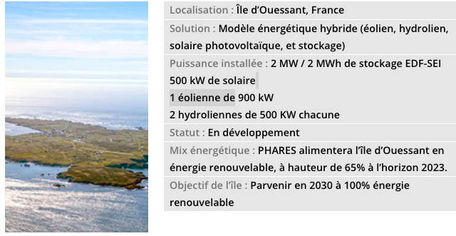 Sabella : Dossier (NT) du projet PHARES d'Akuo Energy à Ouessant