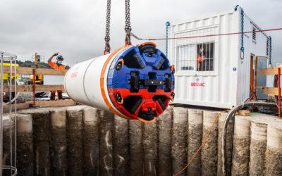 EolMed à Port-La-Nouvelle : RTE réalise des travaux sous les voies SNCF