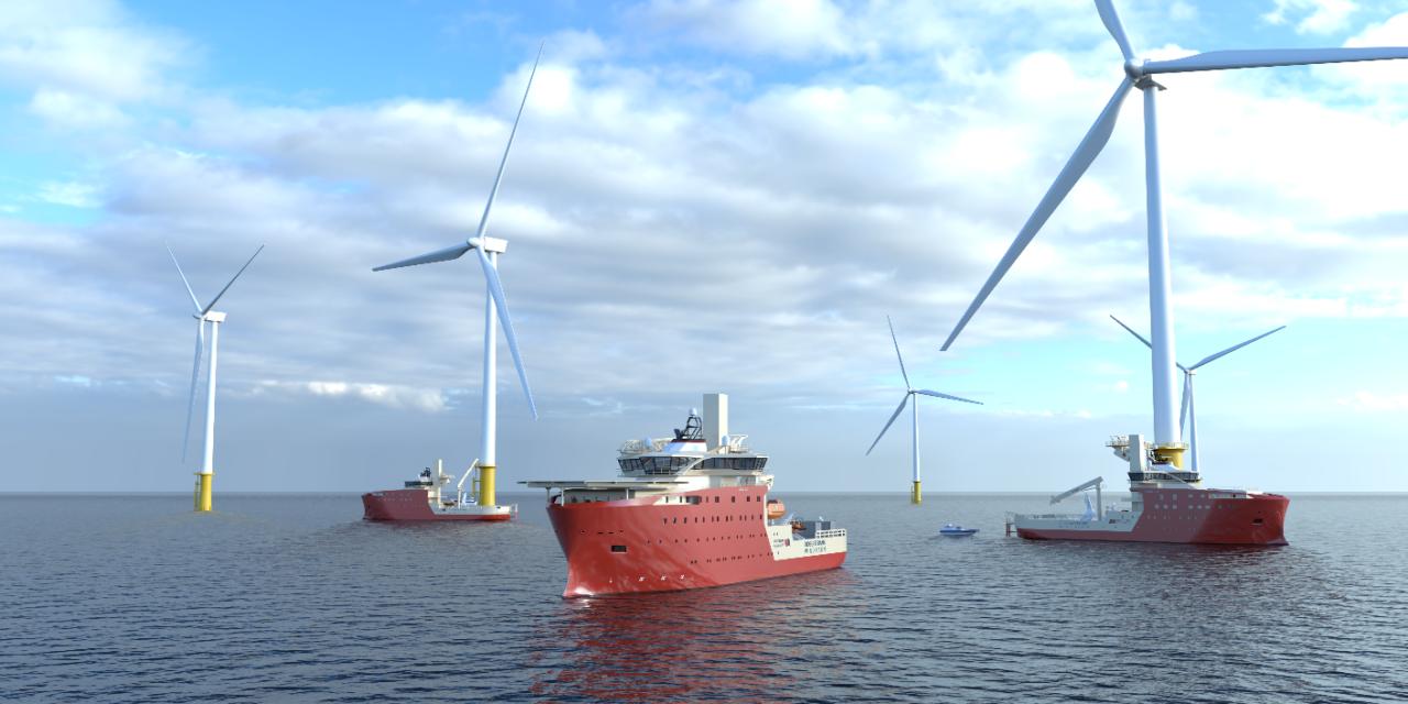 Vard remporte le contrat de North Star Renewables pour 3 SOV destinés à Dogger Bank