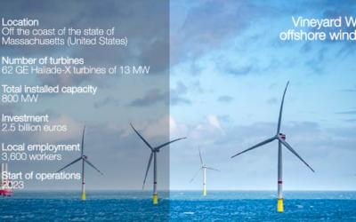 Vineyard Wind a choisi DEME Offshore US pour l'installation des turbines