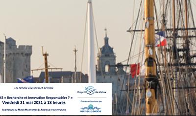 J-5 – «Recherche et Innovation responsables» table ronde organisée par Esprit de Velox