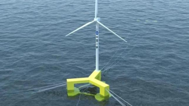 La première éolienne offshore flottante de Chine sort de la chaîne de production