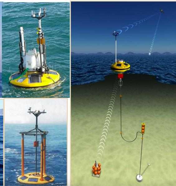 Collecte de données avec la SEAWATCH Wind LiDAR Buoy» de Fugro