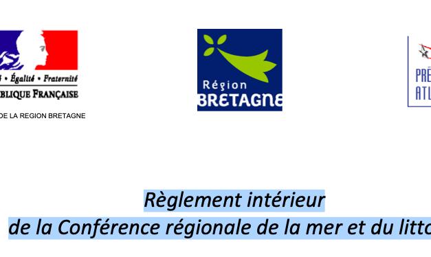 Conférence régionale de la mer et et du littoral – Bretagne