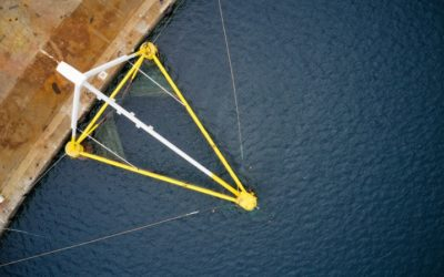 L'éolienne flottante PivotBuoy prête pour les Canaries