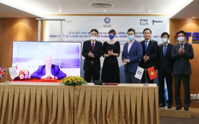 Enterprize Energy launches first Vietnamese floating LIDAR survey at Thang Long
