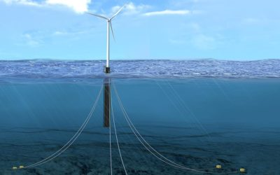 Nouvelle solution de surveillance en temps réel des éoliennes offshore flottantes