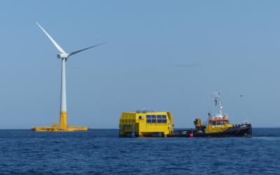 Production d'hydrogène vert en mer : Route pour une première mondiale