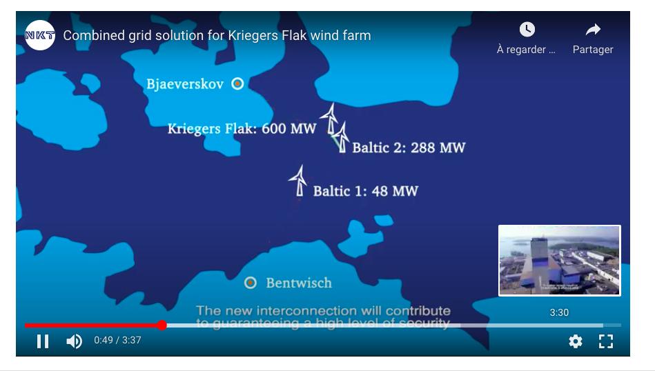 Kriegers Flak Vattenfall : La dernière turbine est posée