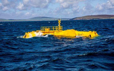 La machine houlomotrice Blue X de Mocean Energy commence les essais en mer à l'EMEC