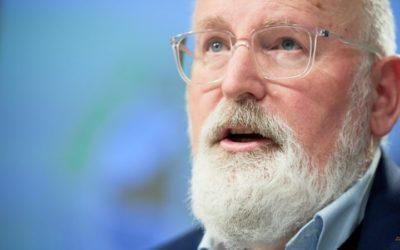 ITW Frans Timmermans par Euractiv: les États membres doivent braver les conséquences des objectifs climatiques plus élevés