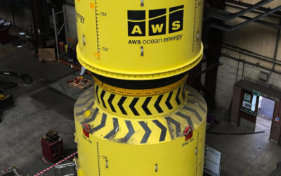 Houlomoteur : AWS Ocean Energy prêt à démarrer les tests